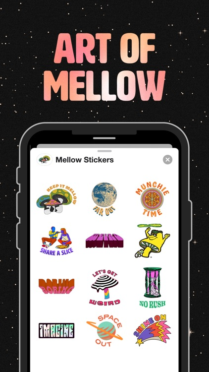 Mellow Stickers