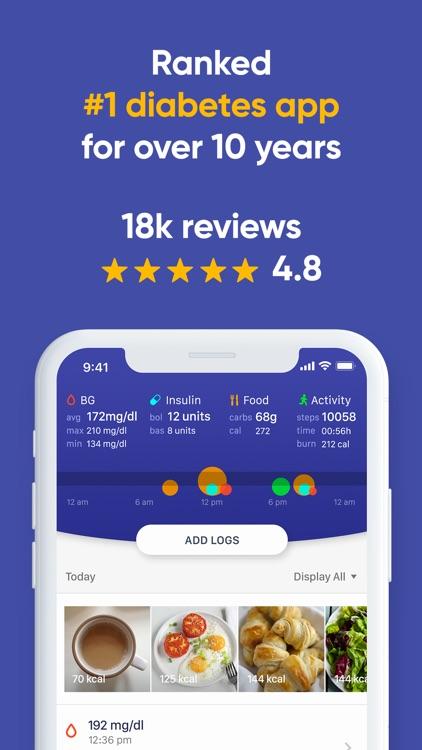 Glucose Buddy+ for Diabetes screenshot-0