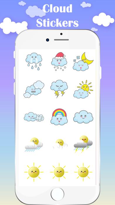 Cloud Stickers screenshot 3