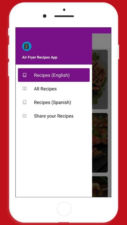 Healthy Air Fryer Recipes App screenshot-3