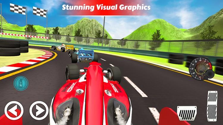 Formula Car Speed Drift Stunt screenshot-3