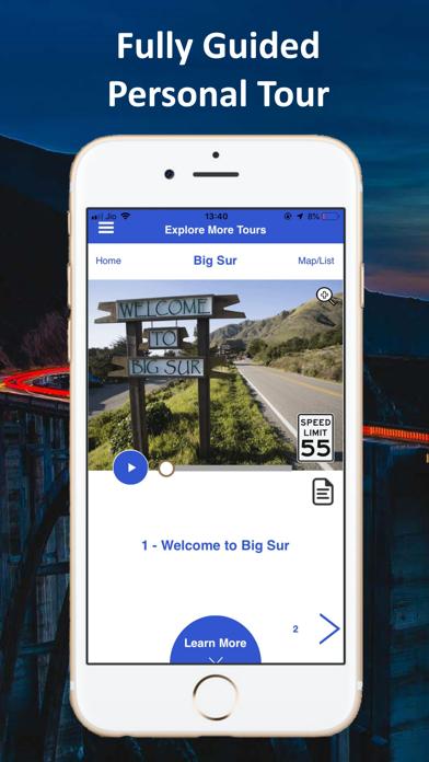 Big Sur Highway 1 Tour Guide Screenshot