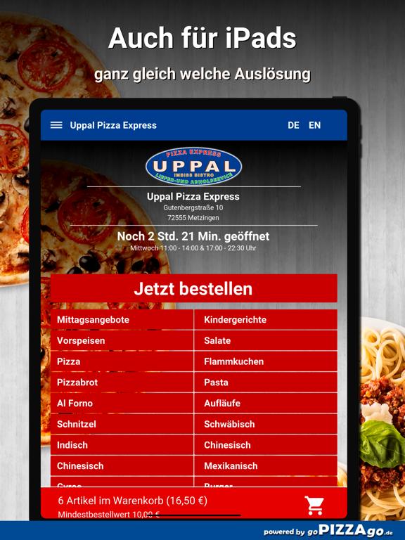 Uppal Pizza Express Metzingen screenshot 7