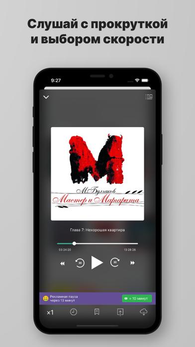 Скриншот №5 к Слушай аудиокниги.