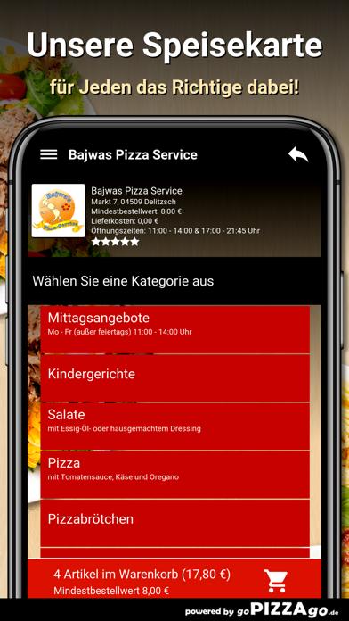Bajwas Pizza Service Delitzsch screenshot 4