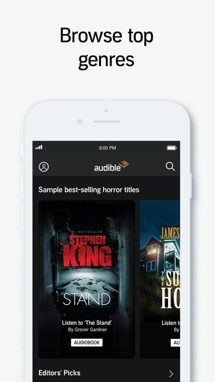Audible audio books & podcasts screenshot-3