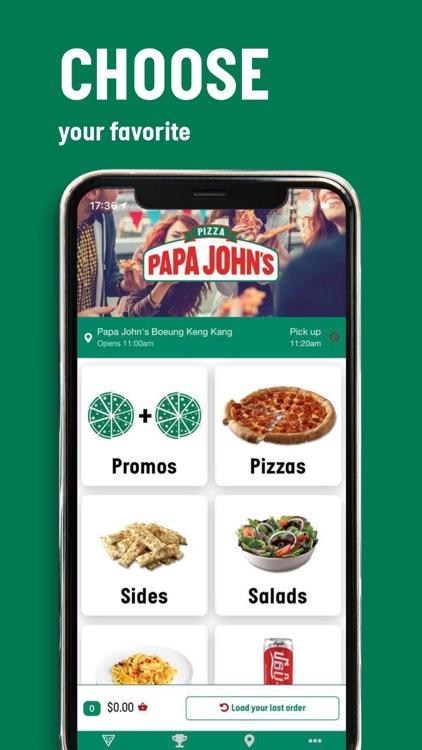 Papa John's Pizza Cambodia screenshot-3