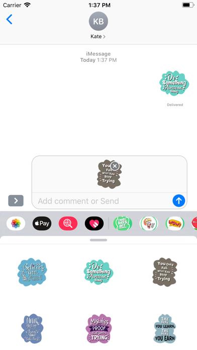 Monday Motivation Stickers screenshot 2