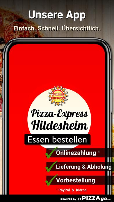 Pizza-Express Hildesheim screenshot 1