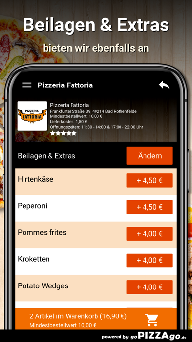 Pizzeria Fattoria Bad screenshot 6