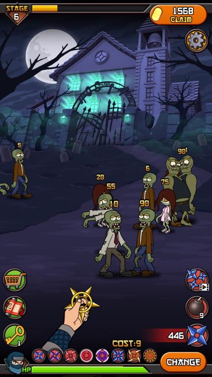 僵尸大战忍者 screenshot-4