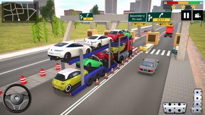 自動車輸送トラックゲーム2020のおすすめ画像2