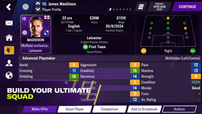 Football Manager 2021 Mobile screenshot one