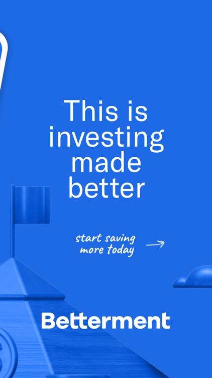 Betterment: Investing