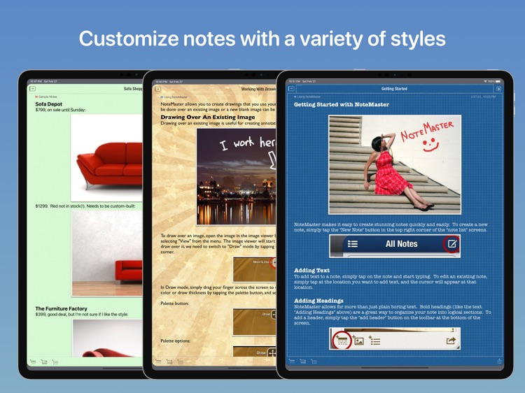NoteMaster Lite for iPad