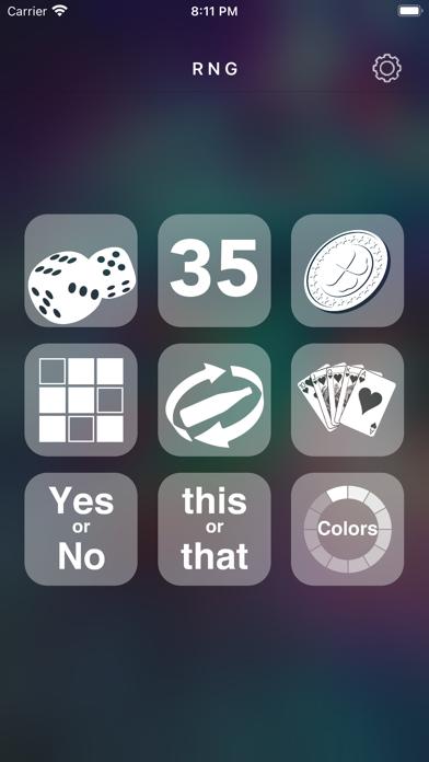 Скриншот №1 к Random Number Generator +