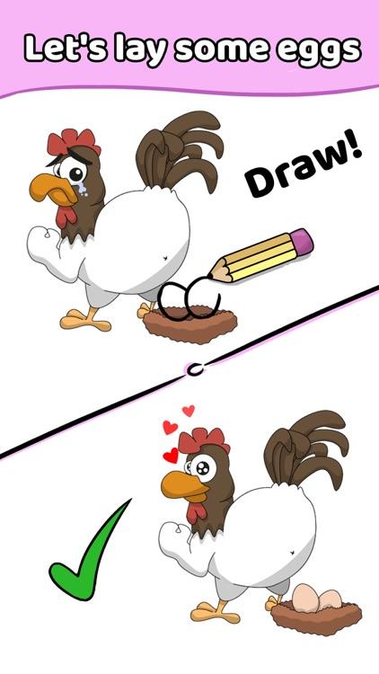 Draw a Line: Tricky Brain Test screenshot-4