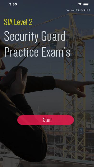 SIA Security Guard Exam Test screenshot 1