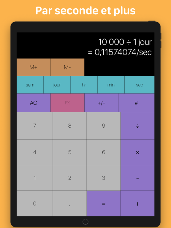 Screenshot #6 pour Tabi Calc