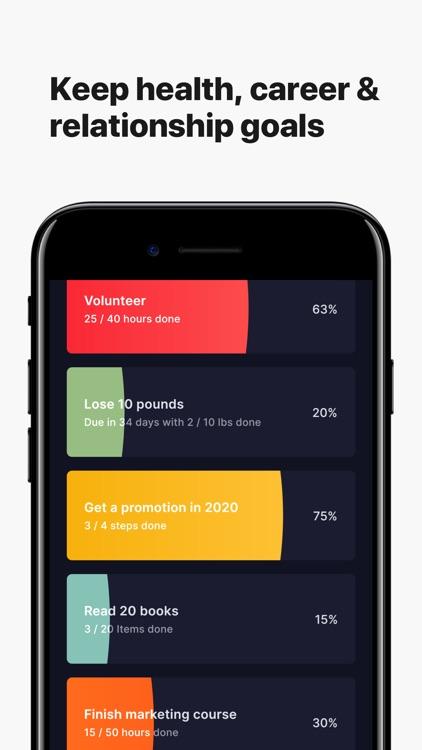 Higher Goals - Habit Tracker