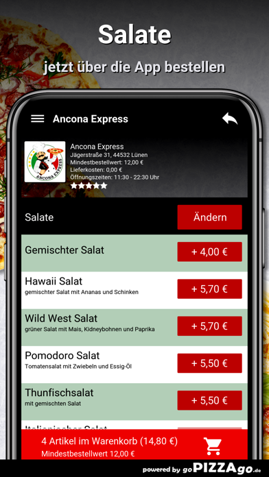 Ancona Express Lünen screenshot 5