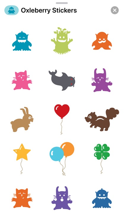 Oxleberry Stickers