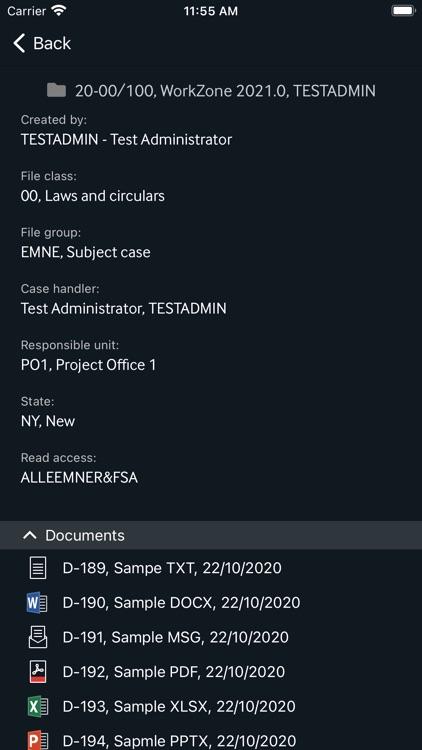 KMD WorkZone for Intune screenshot-4