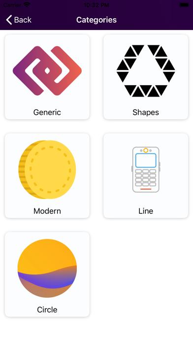ロゴメーカー ロゴデザインロゴ作成 ロゴデザインのスクリーンショット2