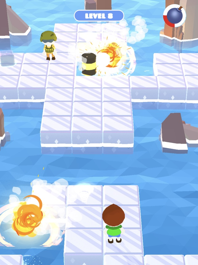 Bomb Me:Danger Io Battle Games, game for IOS