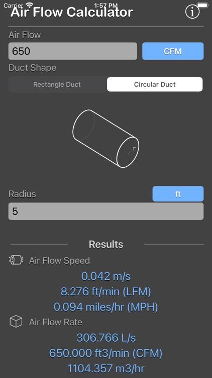Air Flow Conversion Calculator screenshot-8