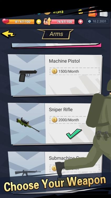 Soldier Life Simulator Games screenshot-3