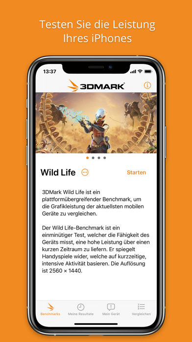 messages.download 3DMark Wild Life Benchmark software