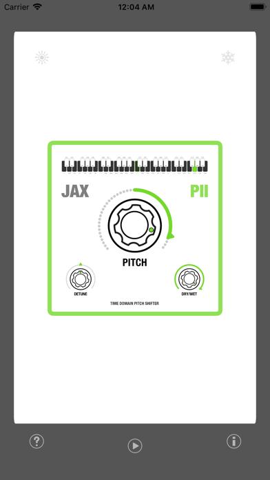 JAX P2 - Pitch Shifter II screenshot 1