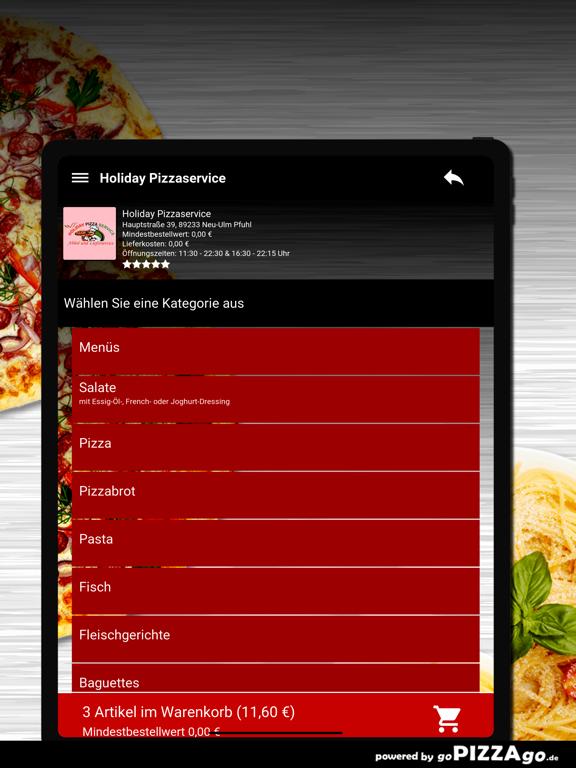 Holiday Pizza Neu-Ulm Pfuhl screenshot 8