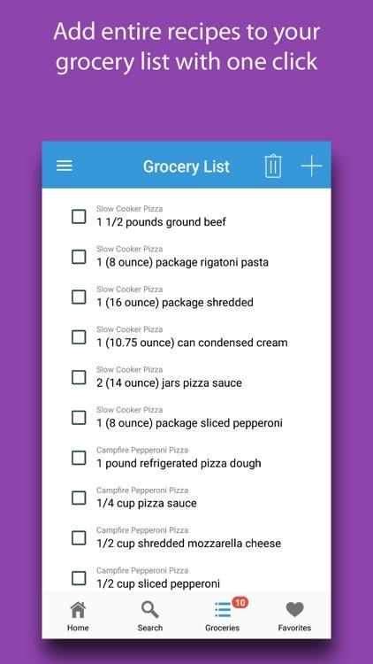 Crusty: Pizza Recipes screenshot-4