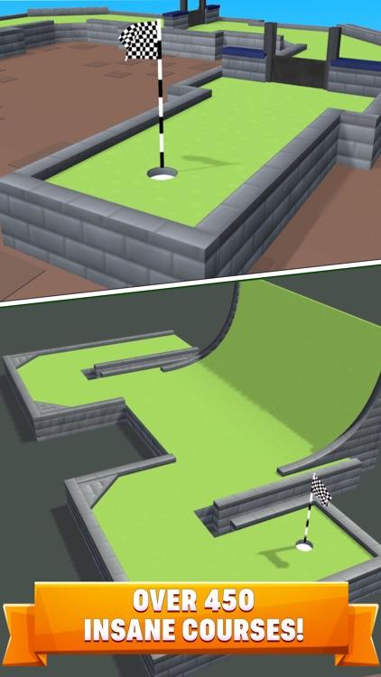 Mini Golf Star Retro Golf Game screenshot-3