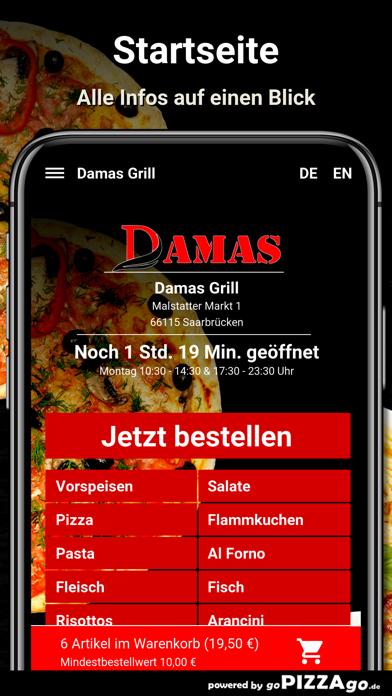 Damas Grill Saarbrücken screenshot 2