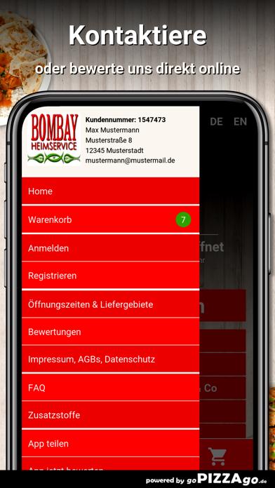 Bombay Heimservice München screenshot 3