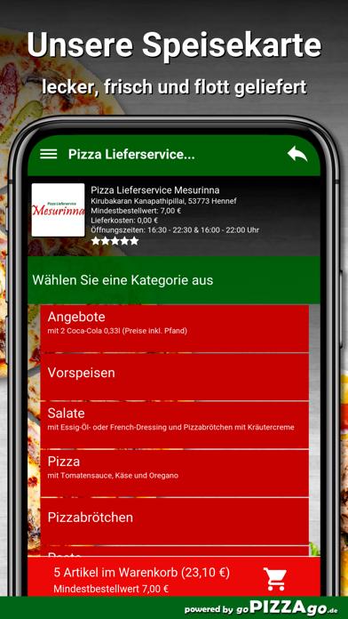 Mesurinna Hennef Lieferservice screenshot 5