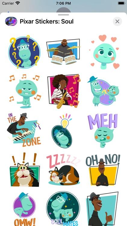 Pixar Stickers: Soul screenshot-4