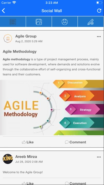Agile Social Network