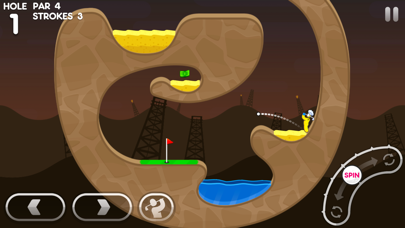 Super Stickman Golf 3+ screenshot 2