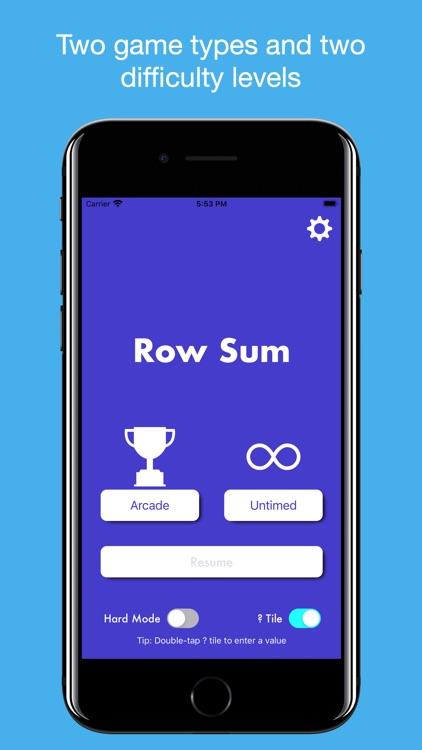 Row Sum