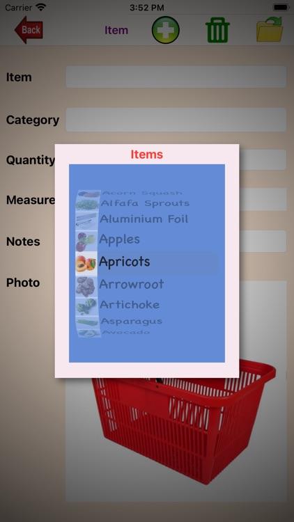 Shopping-List. screenshot-6
