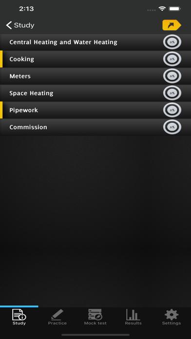 C&G Domestic Natural Gas Exam screenshot 2