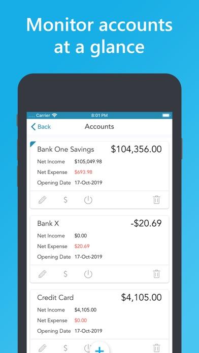 Easy Spending Budget. Screenshots