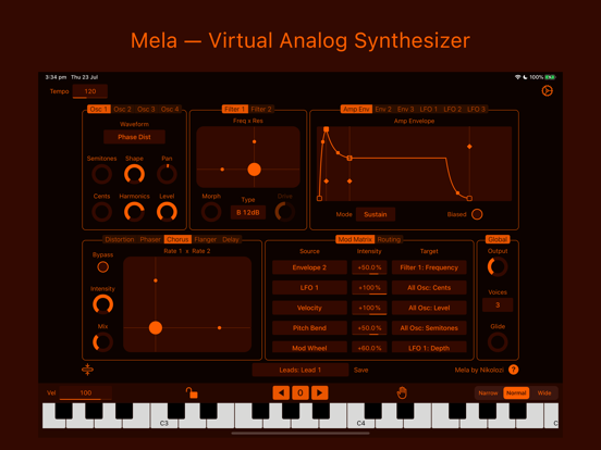 Mela – Synth & FX Screenshots