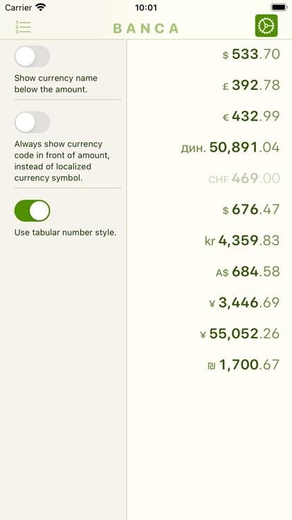 Banca currency converter screenshot-5