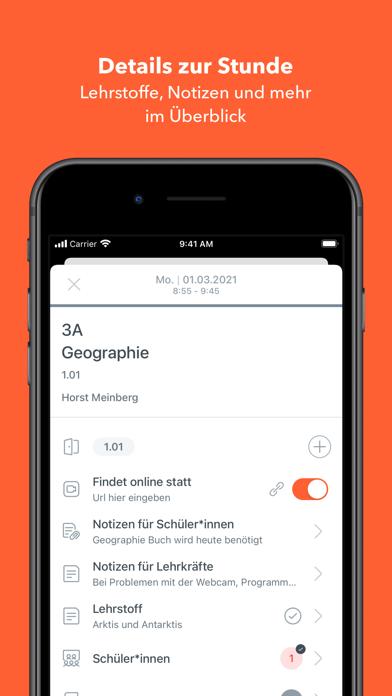 Untis MobileScreenshot von 3