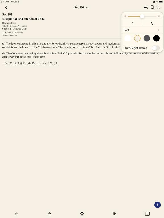 Delaware Code (by PocketLaw) screenshot 7